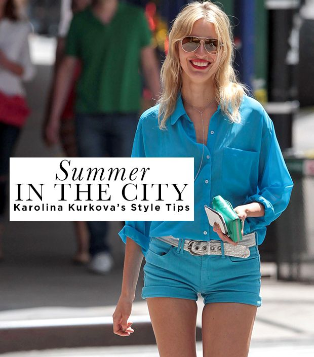 Karolina Kurkova's Tips For Polished Summer Style
