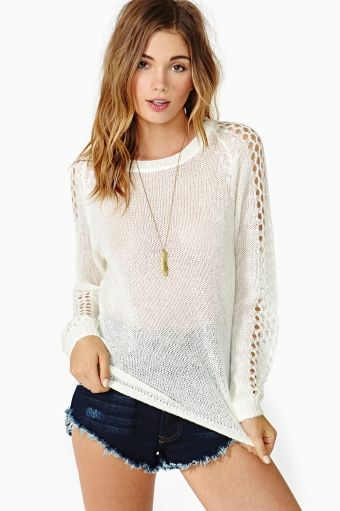 Nasty Gal  Loosen Up Knit