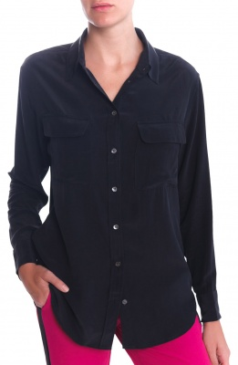 Equipment  Signature Button Down Blouse