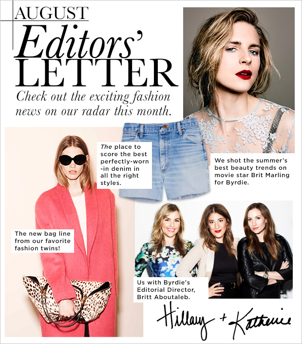 Editors 39 Letter The Fashion News On Our Radar
