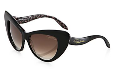 Roberto Cavalli Lohifushi Retro Cat's-Eye Sunglasses