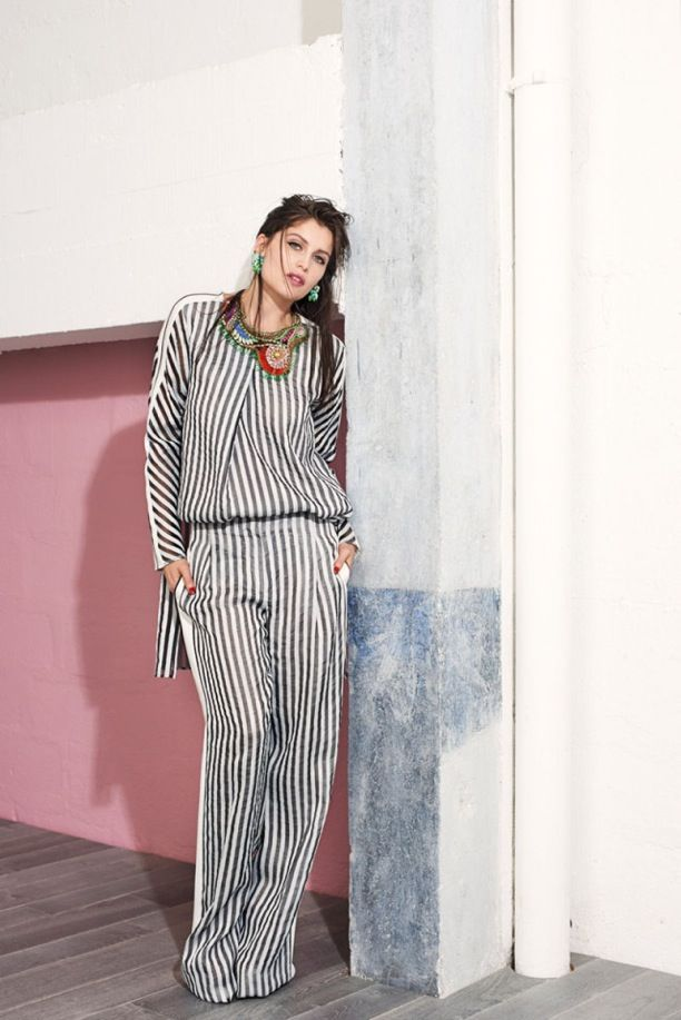 Stripes! Stripes! Stripes! | Vogue Brazil
