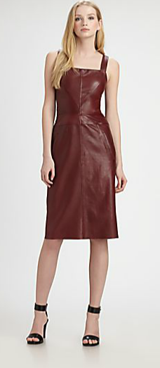 10 Crosby Derek Lam Sleeveless Diamond Seam Dress