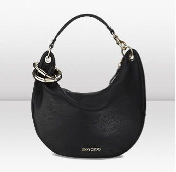 Jimmy Choo  Jimmy Choo Solar S Deerskin Shoulder Bag