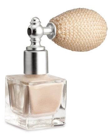 H&M Lightly Perfumed Shimmer Powder