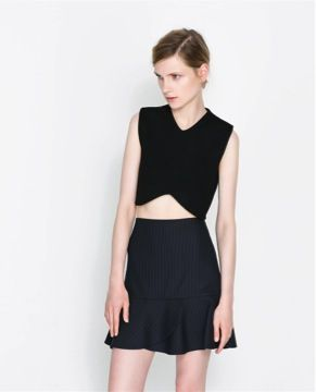 Zara  Cropped Top