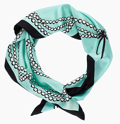 kate spade new york Tromp L'Oeil Silk Scarf