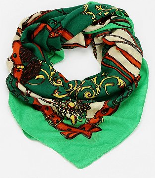 Urban Outfitters  Equestrian Print Scarf