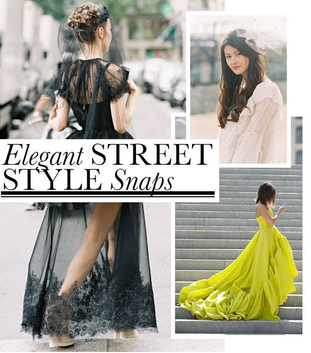 Elegant Street Style Snaps To Drool Over
