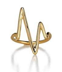 Sarah Chloe  Sarah Chloe Large Heart Beat Ring