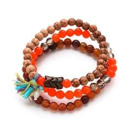 Chan Luu  Chan Luu Beaded Bracelet