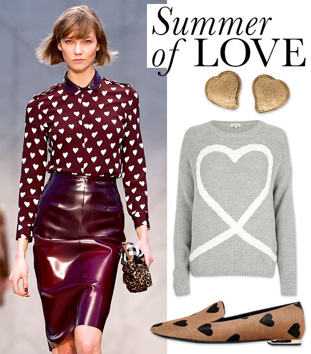 Cute Heart Prints To Wear From Summer To Fall