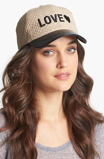 BCBGeneration Fierce Quilted Hat