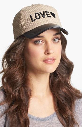 BCBGeneration Fierce Quilted Hat