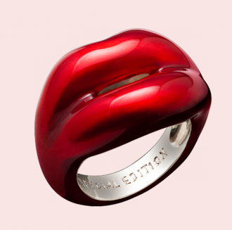 Solange Azagury-Patridge (Red) Special Edition Hotlips Ring