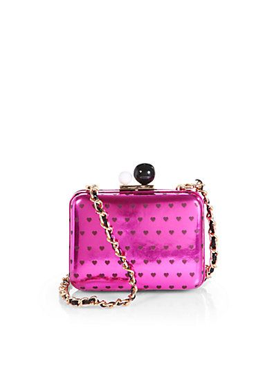 Sophia Webster Azealia Patent Leather Convertible Clutch
