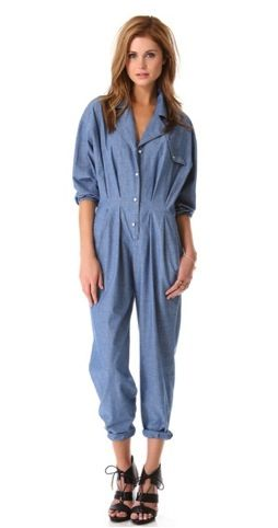 Band of Outsiders  Band of Outsiders Jumpsuit with Collar