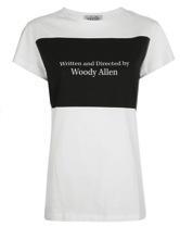Cécil Woody Cécil Woody Allen Print T-Shirt