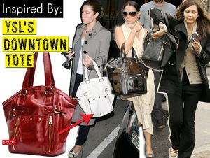 YSL's Downtown Tote