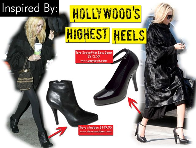 Hollywood's Highest Heels