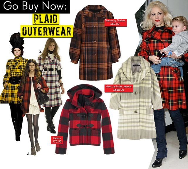 Plaid Outerwear