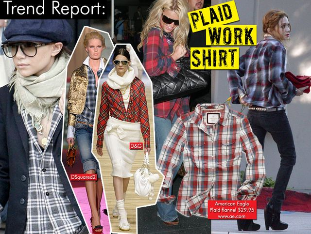 Plaid Work Shirts