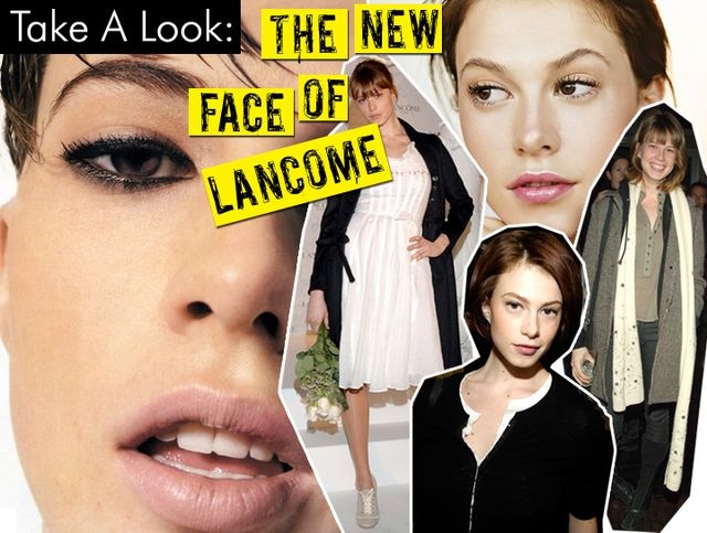 The New Face Of Lancome