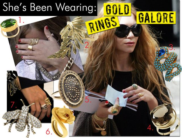 Gold Rings Galore