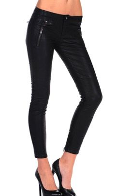 Blank NYC  Style Stalker Blank NYC Vegan Leather Moto Skinny