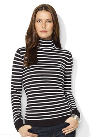 Lauren Ralph Lauren Style Stalker Lauren Ralph Lauren Long-sleeve striped Turtleneck
