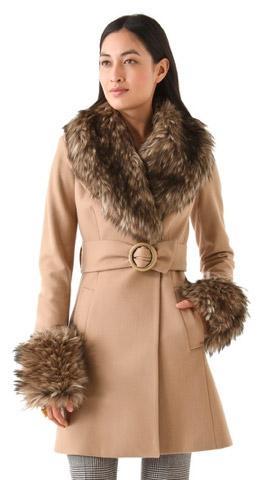 Rachel Zoe  Style Stalker Rachel Zoe Trish Pea Coat