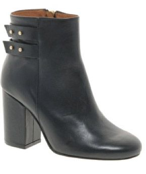 Whistles Style Stalker Whistles Stinger Black Strapped Ankle Boots