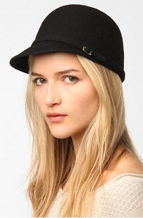 Urban Outfitters Style Stalker Urban Outfitters Felt Riding Hat