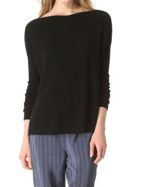 Vince Style Stalker Vince Rib Cashmere Sweater