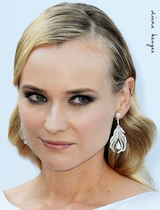 Wearing: Chanel Fine Jewellery Plume Earrings in 18-Karat White Gold and DiamondsImage courtesy of Getty Images
