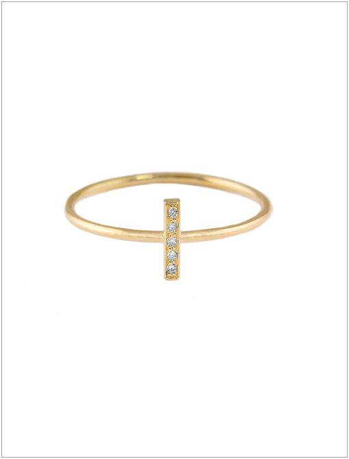 Diamond Bar Ring ($450)There's a reason celeb favourite Jennifer Meyer was runner-up at the 2012 CFDA Awards: her designs are endlessly chic. From the delicate letter necklaces to the stackable...