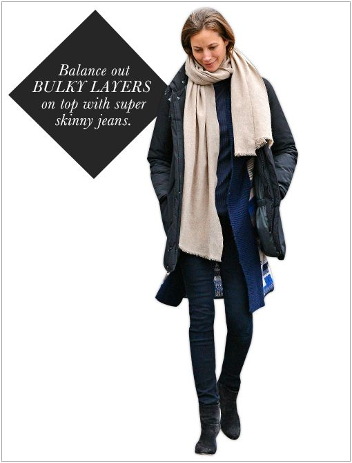 Get The Look: Tory Burch Allover T Jacquard Scarf ($185) in Light Camel  Image courtesy of FameFlynet Pictures