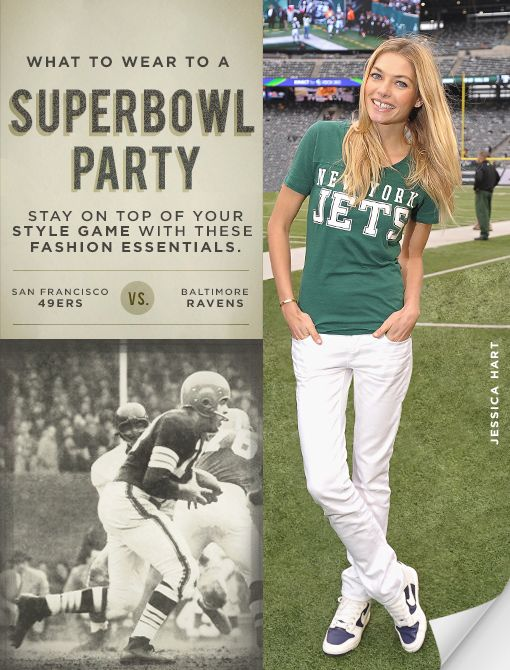 Super Bowl Fashion Essentials