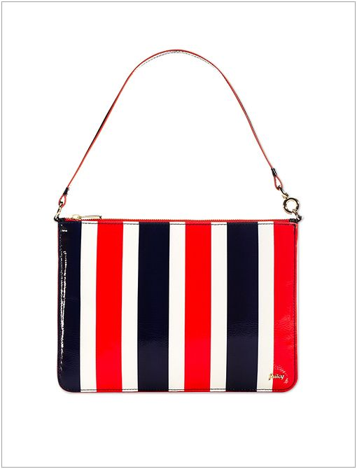 Striped iPad Pouch ($48)