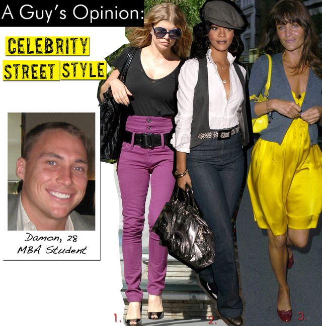 Celebrity Street Style/August