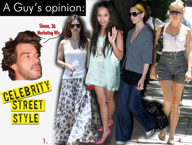 Celebrity Street Style/July