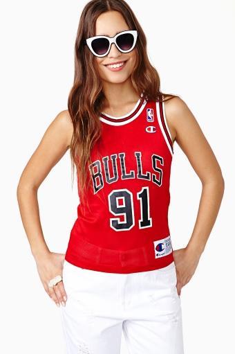 Nasty Gal  Chicago Bulls Rodman Tank