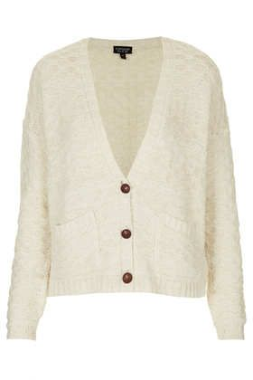 Topshop  Knitted Girlie Stitch Cardi