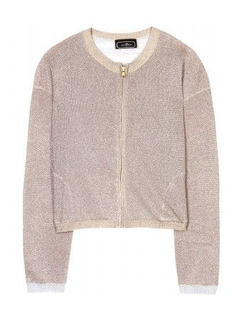 Marlene Birger  Martha Metallic Cardigan