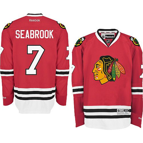 NHL Blackhawks Reebok Premier Hockey Jersey