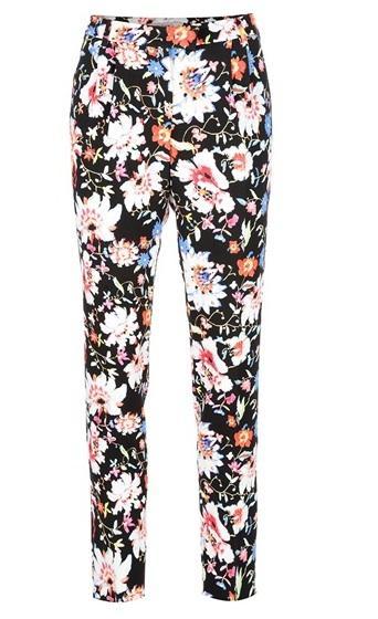 Etro Floral Print Trouser