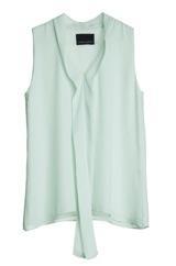 Cynthia Rowley Cynthia Rowley Silk Tie Blouse