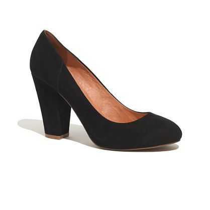 Madewell The Frankie Pump in Suede