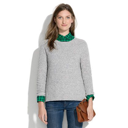 Madewell Perfect Textured Sweater