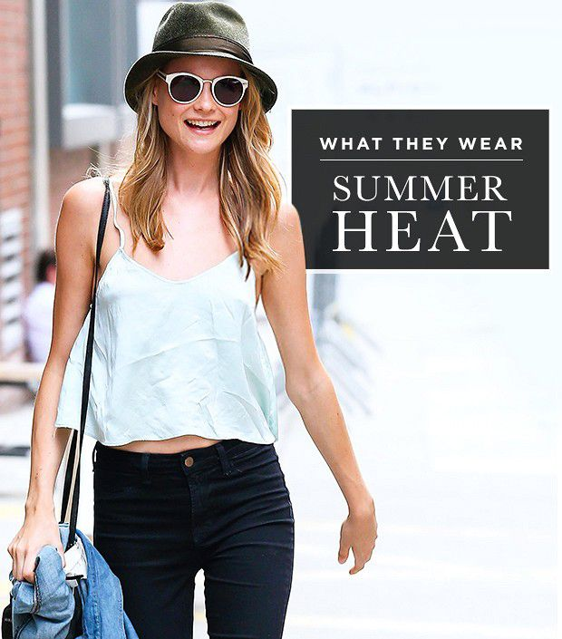 Stay Cool, Look Chic: What Celebs Wear To Beat The Heat